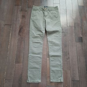 American Eagle Green Skinny Jeans Size 2